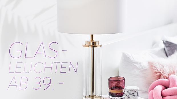 Must-have: Glas-Leuchte