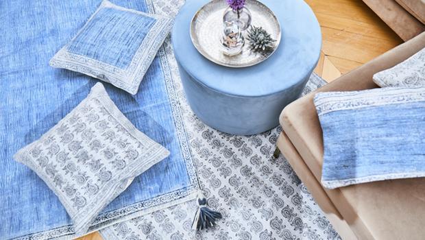 Handgefertigte Wohn-Textilien