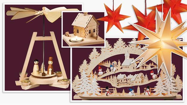 Fensterlicht Weihnachten.Weihnachten Wie Im Erzgebirge Stilvolle Deko Handwerkskunst