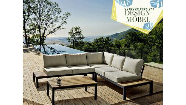 Möbel-Design für draußen