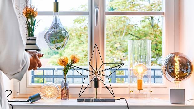 Deko-Lichter fürs Fenster