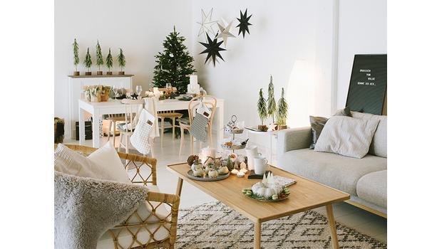 Weihnachtszauber im Hygge-Stil