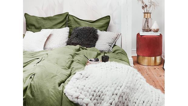 Herbstliche Bettwäsche