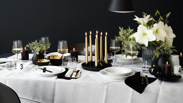 Ein Glam-up für den Xmas-Tisch