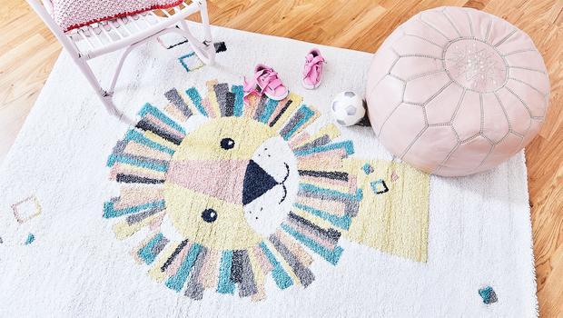 Verspielte Teppiche für Kids