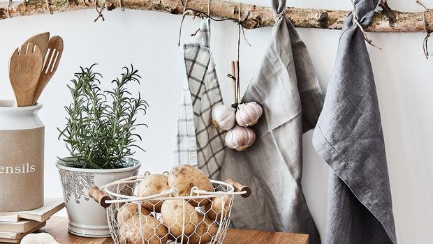 Küchen-Textilien mit Style