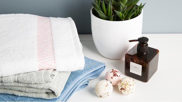 Handtücher in Hülle und Fülle