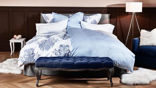 Klassische Eleganz in Blau