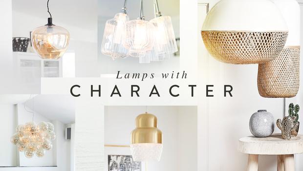 Charakterstarkes Licht-Design