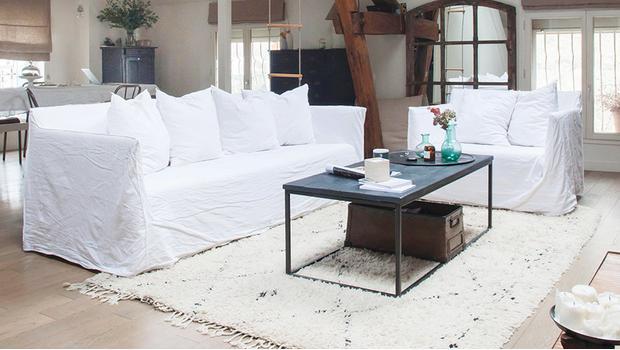 Legere Landhaus-Sofas