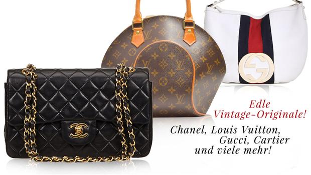 Begehrte Vintage-Taschen