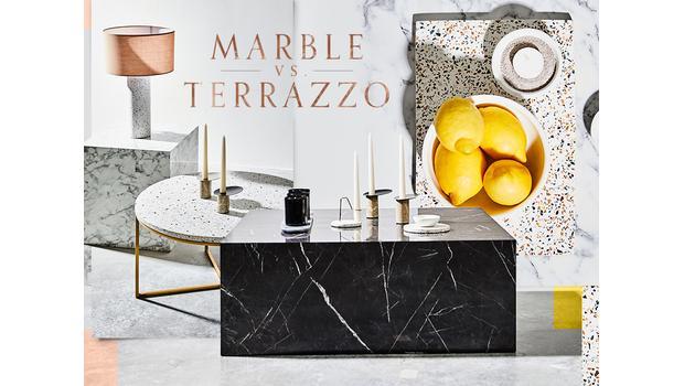 Marmor vs. Terrazzo