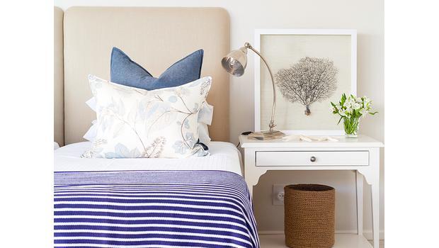Textilien mit Hamptons-Flair
