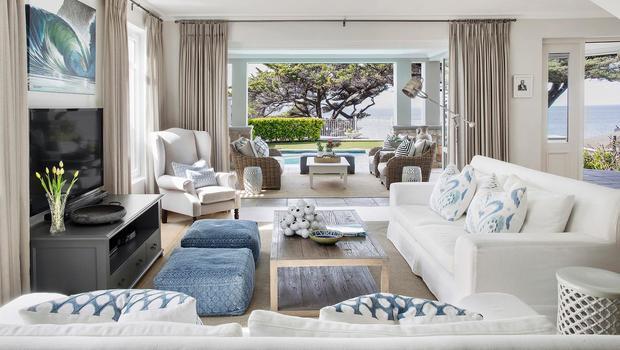 Mediterraner Strandhaus-Style