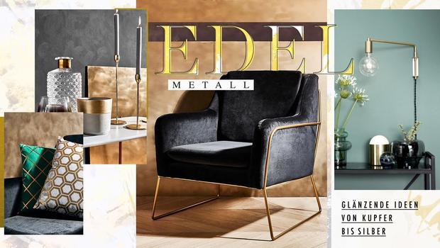 Interior-Liebling: Edelmetall