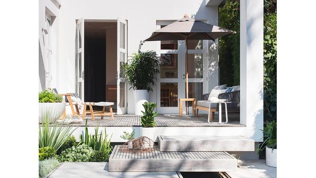 Modernes Outdoor-Styling