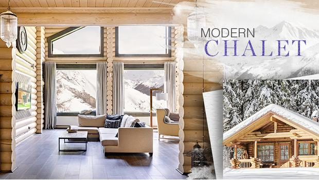 Modernes Chalet