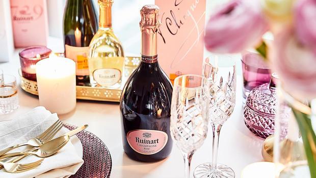 Zeit für Champagner!
