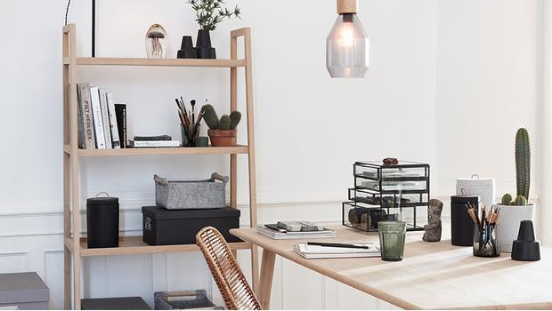 Home-Office im Scandi-Stil