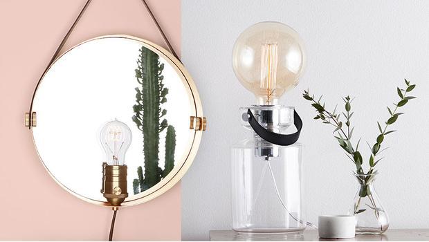 Puristisches Leuchten-Design