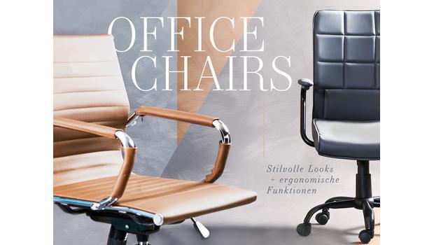 Bürostühle für jeden Stil
