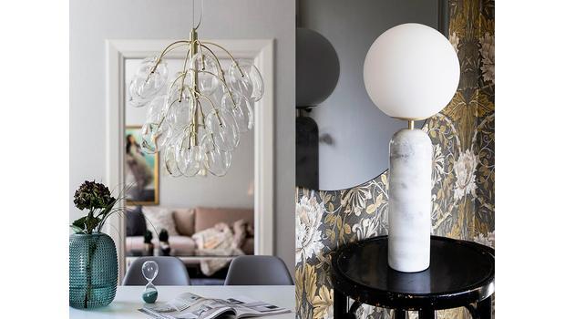 Opulentes Licht-Design