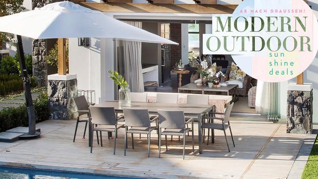 Modernes Outdoor-Design