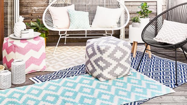 Outdoor-Teppiche & -Poufs