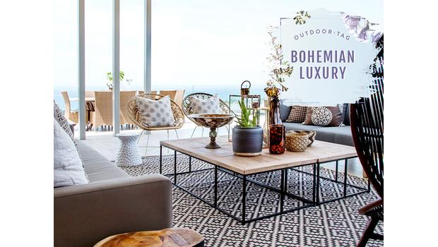 Outdoor-Paradies im Boho-Style