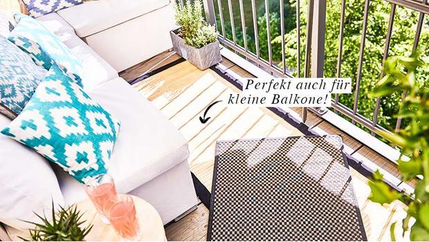 Teppiche für Balkon & Terrasse