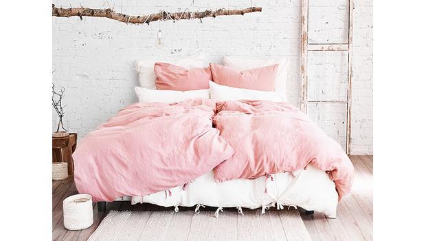 Luftige Leinen Bettwäsche Der Material Trend In Pastell Nuancen