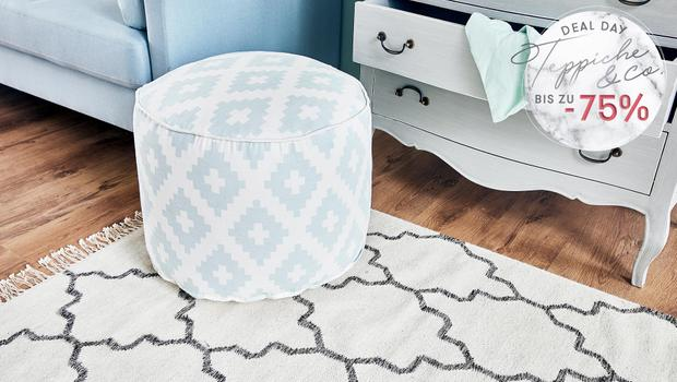 Deal Day: Teppiche & Poufs