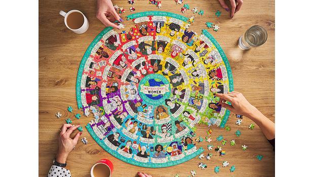 Stilvoller Puzzle-Spaß