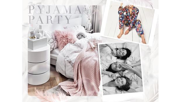 Einladung zur Pyjama-Party