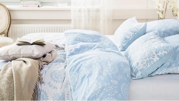 Romantische Bettwäsche