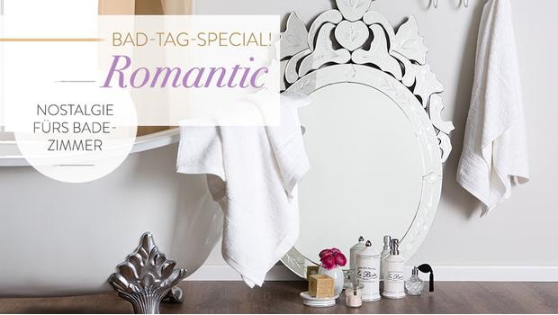Romantisches Home Spa
