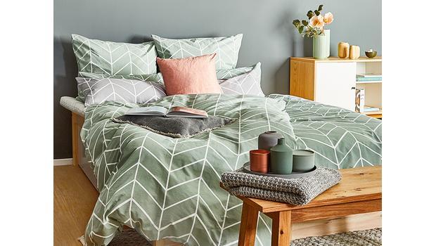 Scandi-Flair fürs Schlafzimmer Bettwäsche in dezenten Farben ...