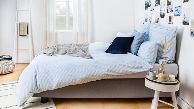 Frische Brise fürs Bett