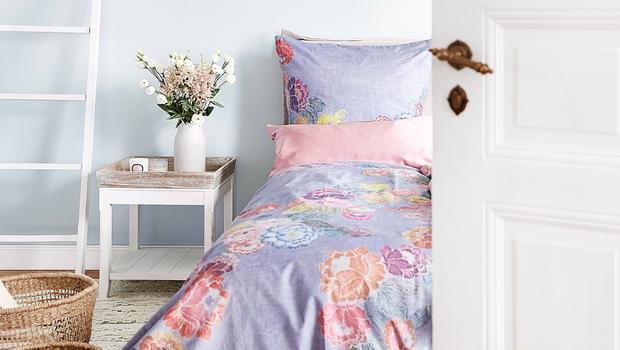 Zart-luxuriöse Bettwäsche