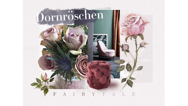 Traumhafter Dornröschen-Look