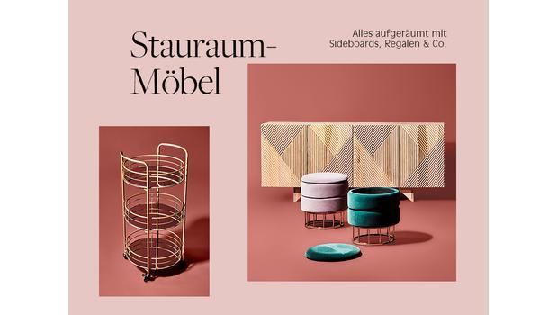 Stauraum-Möbel