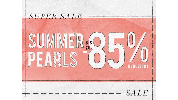 Sommerliche Perlen bis zu -85%