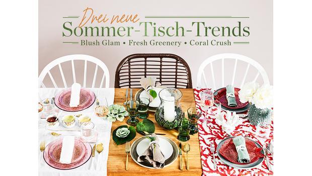 Die schönste Sommer-Tableware
