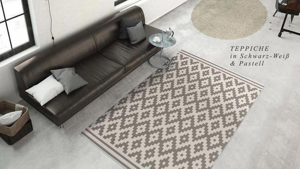 Musterspiele mit Teppichen
