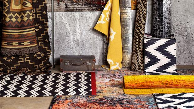 Großer Teppich-Bazar