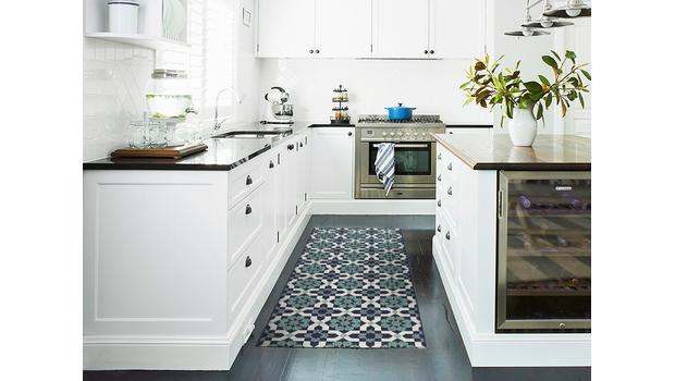 Stylishe Teppichläufer Wohnliche Vielfalt für Küche & Flur ...