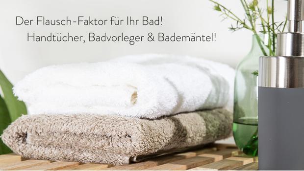 Textilien fürs Home-Spa