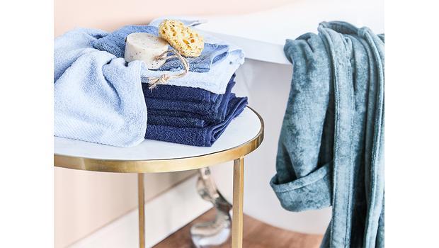 Luxuriöse Textilien fürs Bad