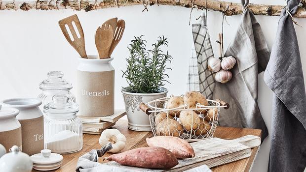 Entspannte Country-Küche