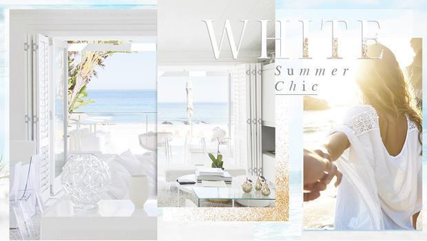 Ganz in Weiß